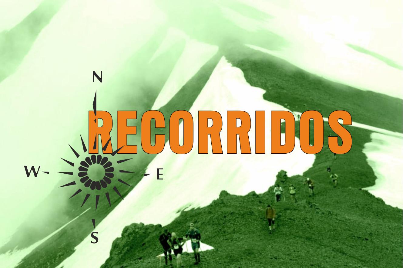 RECO 1 - Recorridos y avituallamientos